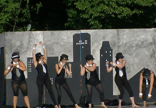 Water Ballet Chorus Line