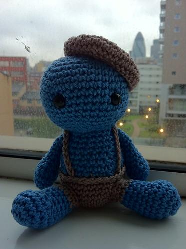Horge - crochet creature 5