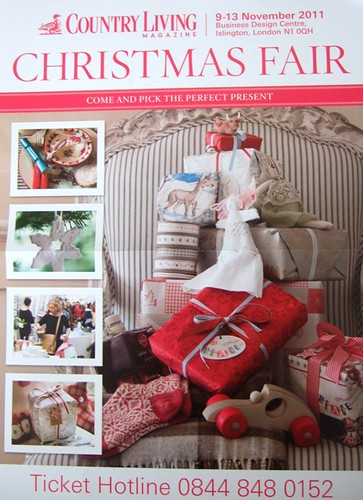 Country Living Christmas Fair Poster
