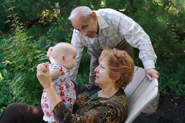 Kate, Bubbe & Papa