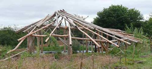 roundwood frame