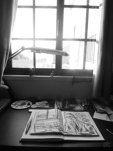 Spontaneous Drawing - Table