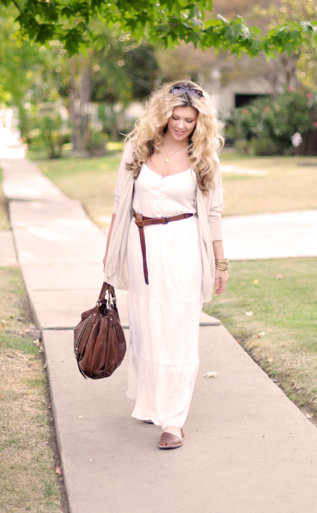 white after labor day -maxi dresses for fall