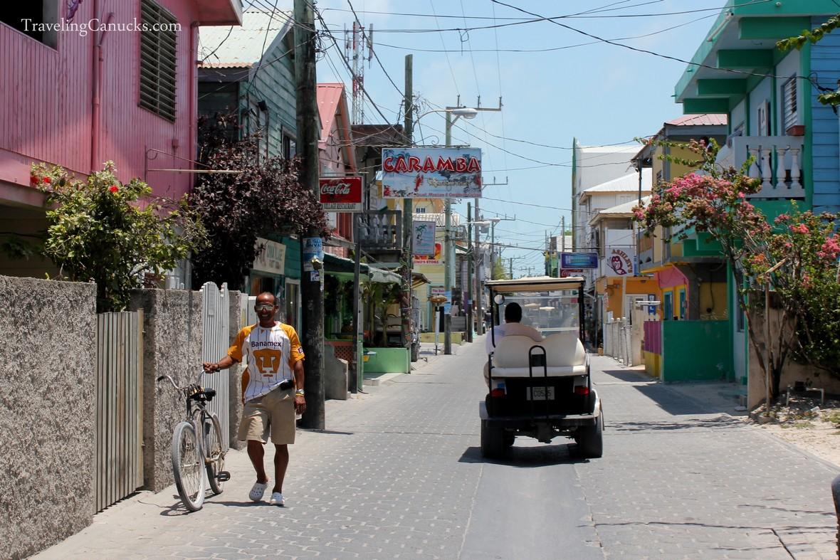 Streets of San Pedro, Ambergris Caye