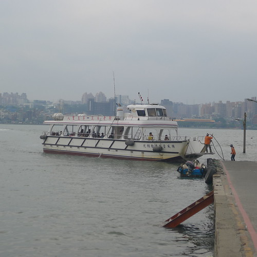 八里渡船頭--渡輪