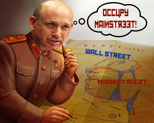 OCCUPY MAINSTREET by Colonel Flick
