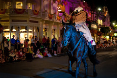 The Headless Horseman rides tonight (Explored) (Adam Hansen) Tags: halloween disney disneyworld wdw waltdisneyworld headlesshorseman mickeysnotsoscaryhalloweenparty bootoyouparade