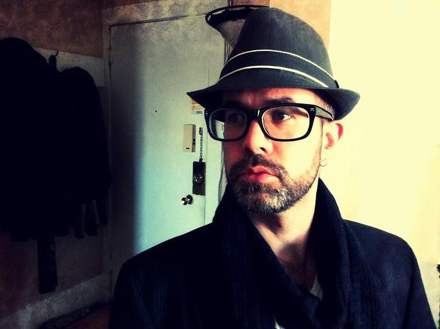 Aidan as a hipster