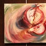 "<b>Allium Cepa</b><br/> Gilbertson (LC '04) (Oil paint on canvas, 2011)<a href=""http://farm7.static.flickr.com/6167/6173623476_d59cc48cbd_o.jpg"" title=""High res"">∝</a>"