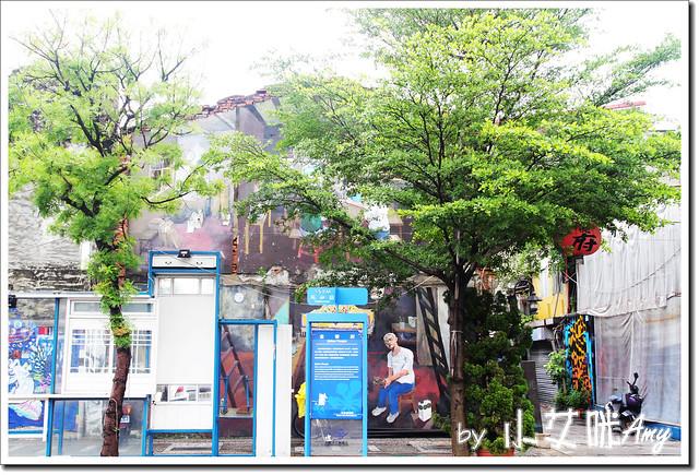單車環島第四天 (23) 台南市海安路藝術街