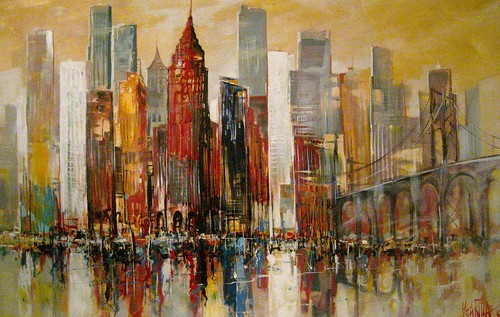 New York City, USA                                                120cm x 180cm