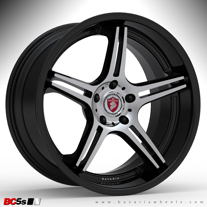 Bavaria wheels BC5s BKDM