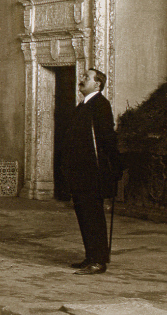 Sinagoga del Tránsito en 1916. Fotografía de Luis Calandre Ibáñez