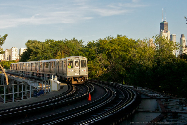 Chicago CTA Train 2