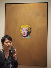 Lisa and Warhol's Marylin