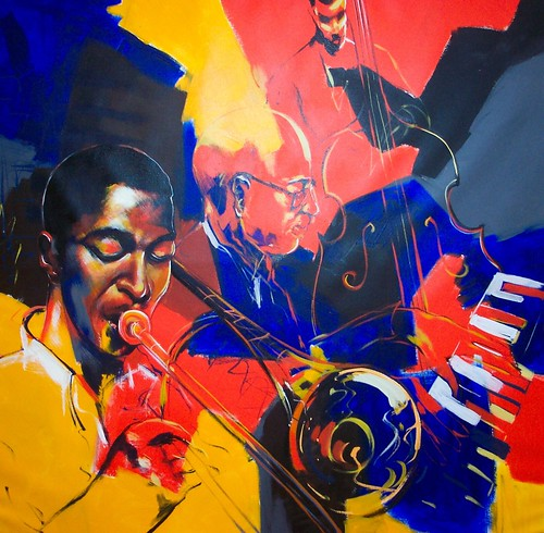 Jazz Club - Painting