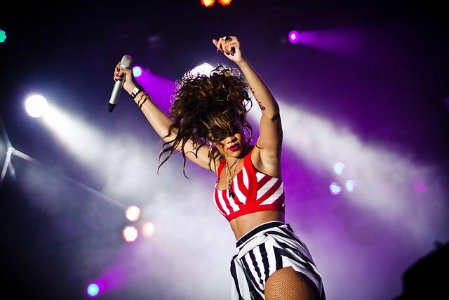 Rihanna no Palco Mundo