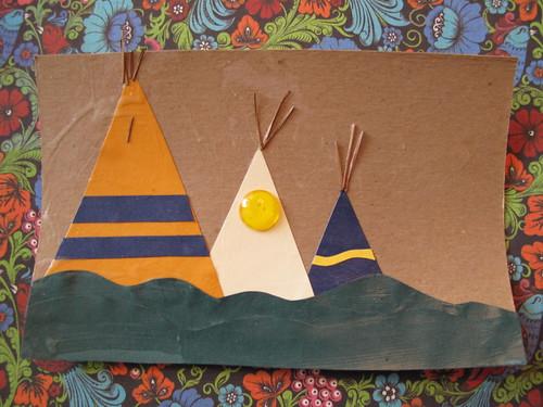 teepee craft