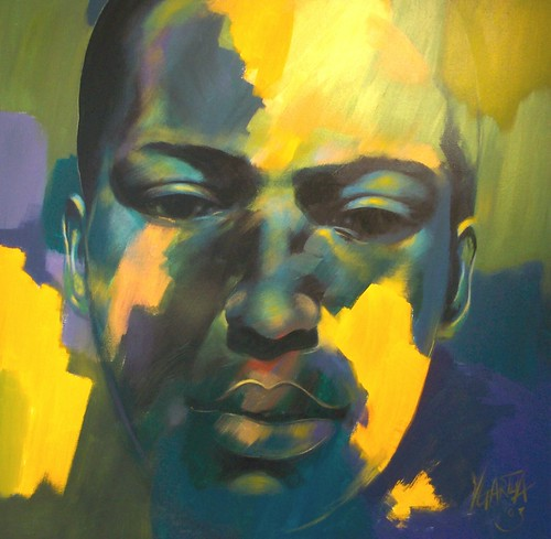 John Coltrane - Portrait - Painting