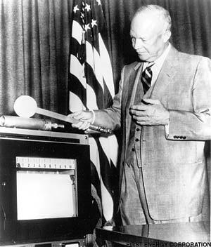 Eisenhower with magic wand