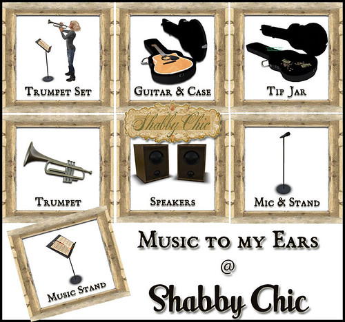 Shabby Chic - Music to My Ears by Shabby Chics