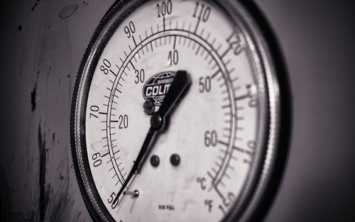 Temperature Gauge - Desktop Background by Thomas Gehrke