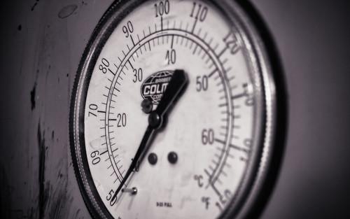 Temperature Gauge - Desktop Background by Thomas Gehrke
