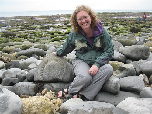 Anne with Ammonite