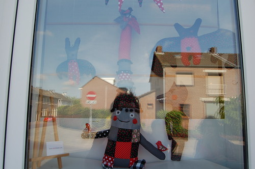 Molly's window display by Tuttebel