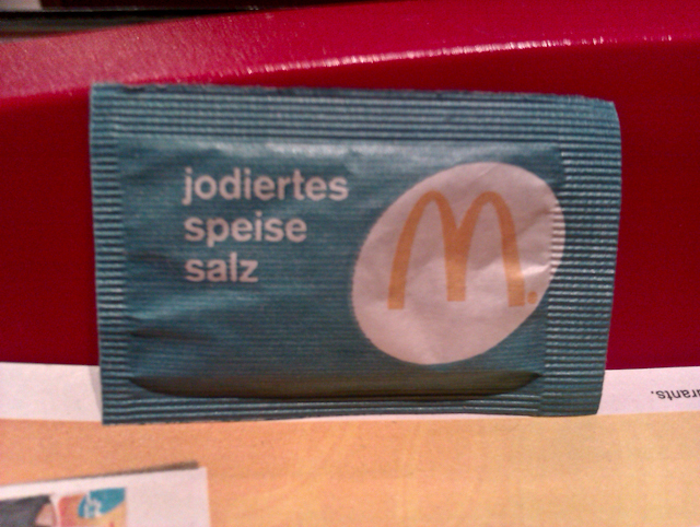 Mc Donalds Salt