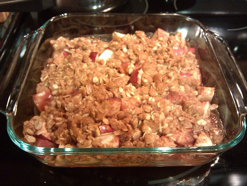 Apple crisp by The Tart's Kitchen
