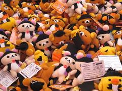arcade prizes (Samm Bennett) Tags: japan tokyo cluster ikebukuro accumulation rilakkuma