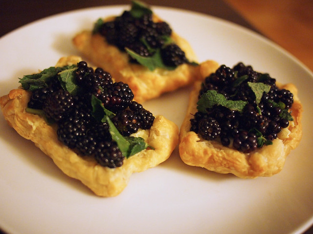 Wild Blacberry Tart