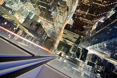 This is your life (tomms) Tags: city urban toronto canada night lights downtown cityscape vertigo financialdistrict business core fightclub firstrule tdtowers