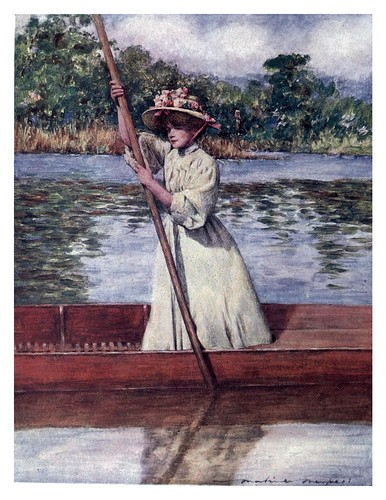 001-En el rio-The Thames-1906- Mortimer Menpes