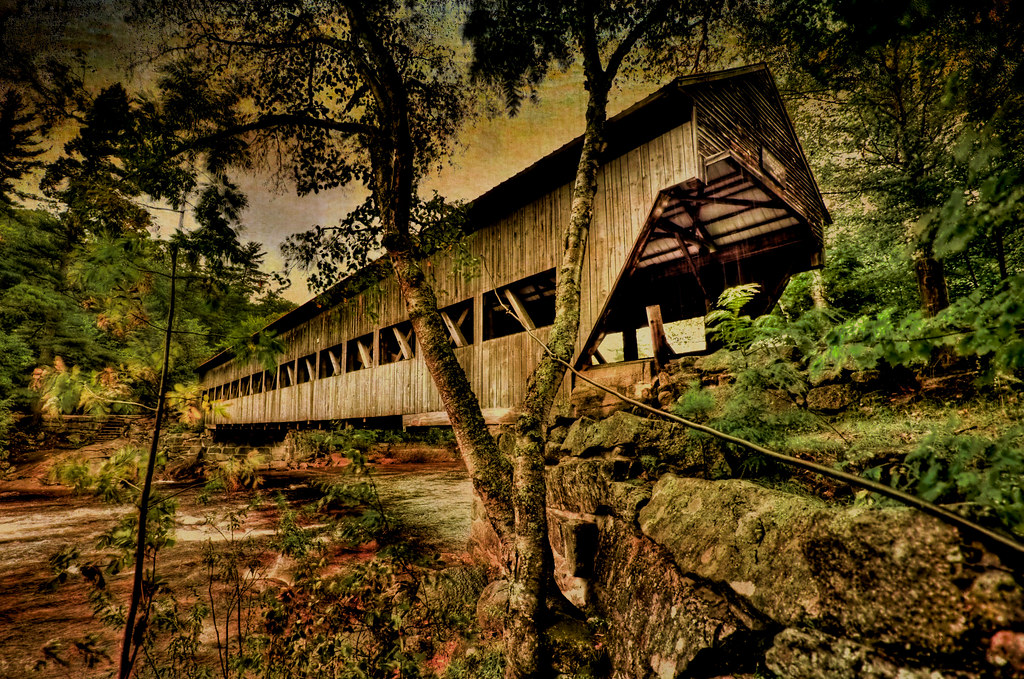Albany Covered Bridge  New Hampshire