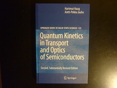 Quatum kinetics in transport and optics of semiconductors