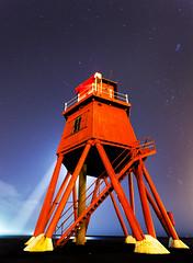 Stary night (Mike Ridley.) Tags: longexposure lighthouse night stars nightscene northeast highiso northeastcoast 1740f4l canon5dmkll