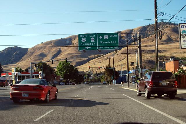 SR 150 @ US 97 Alt (southward)