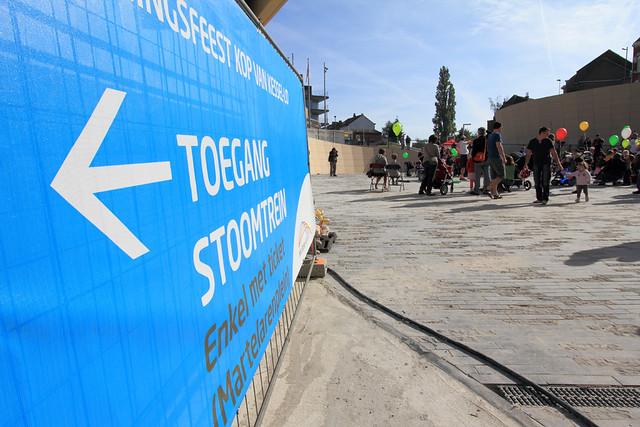 Opening Kop van Kessel-Lo: stoomtreinrit