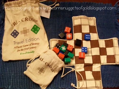 Tri-Cross Travel Game