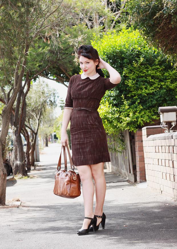 vintage forties dress