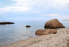 Stony Creek Granite Gneiss Glacial Erratics (sandy richard) Tags: usa newyork unitedstates geology wildwood calverton wildwoodstatepark newyorkstateparks sandyrichard longislandgeology sandrarichard