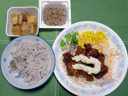 2011年9月26日の晩ご飯