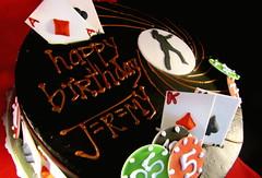Jeremy's 007 Cake