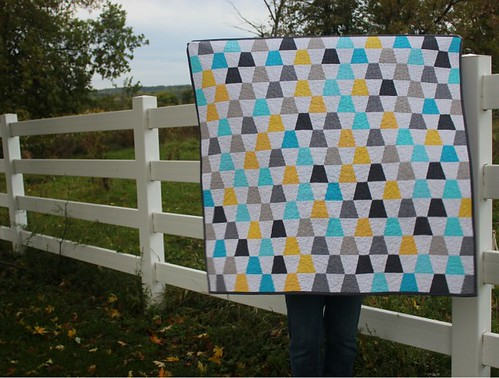 tumbler quilt [finished]