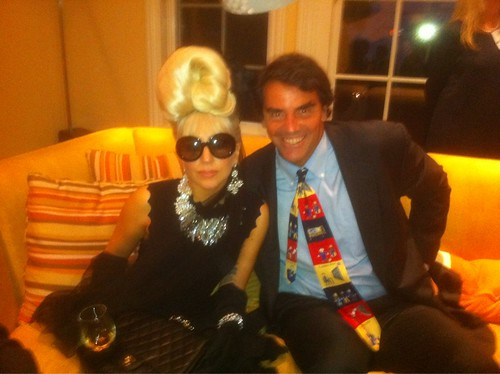 Tim and Lady Gaga