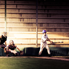 Split Second (Standard Deluxe) Tags: baseball catcher batter umpire 200mm 200l canonef200mmf28liiusm