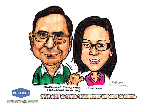 Caricatures for Polymet - 18