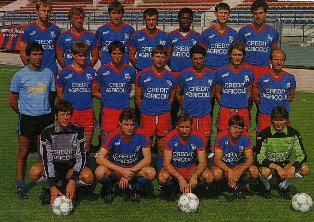 Caen 1986-87